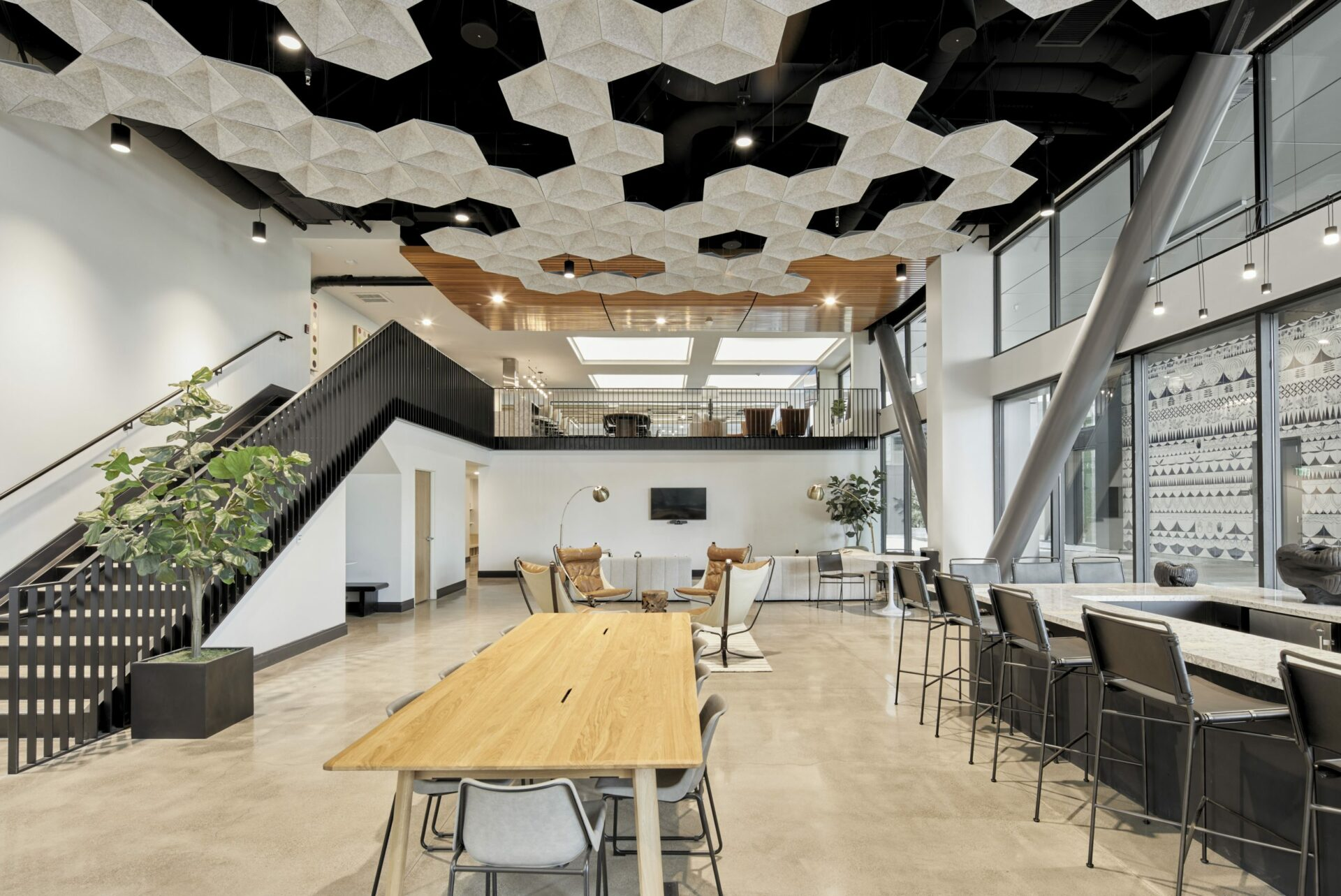 Oakland apartments with co-working space