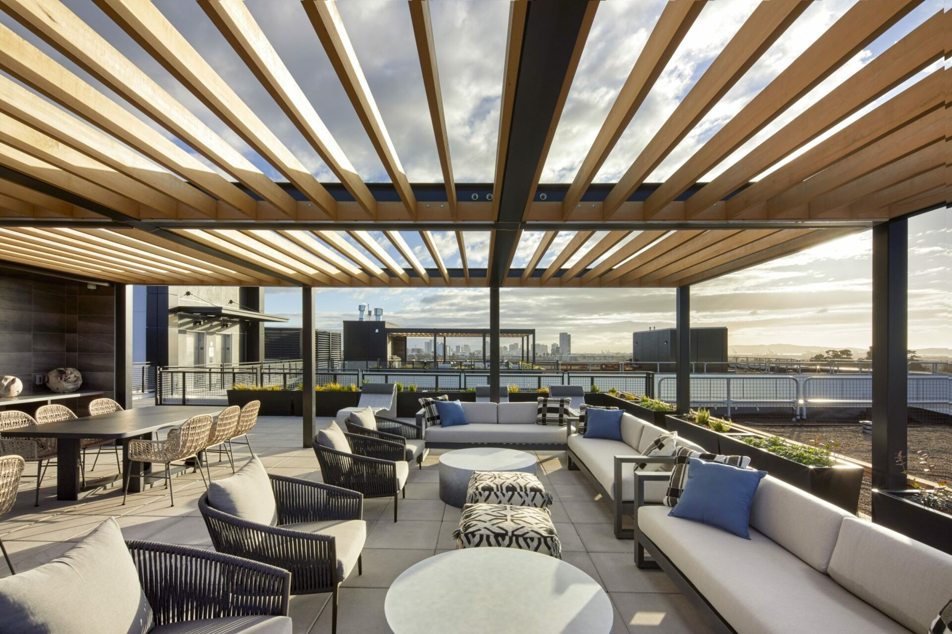 Apartment Rooftop Deck