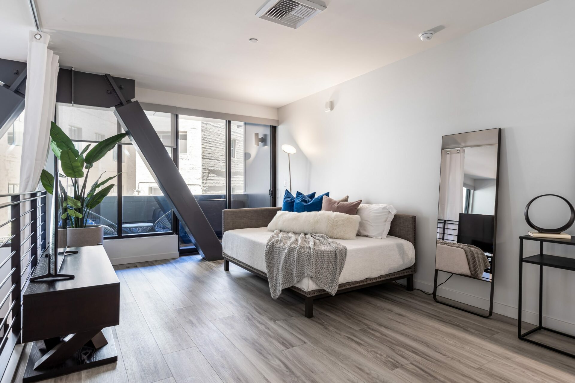 2 Bed Townhome Lofted Bedroom