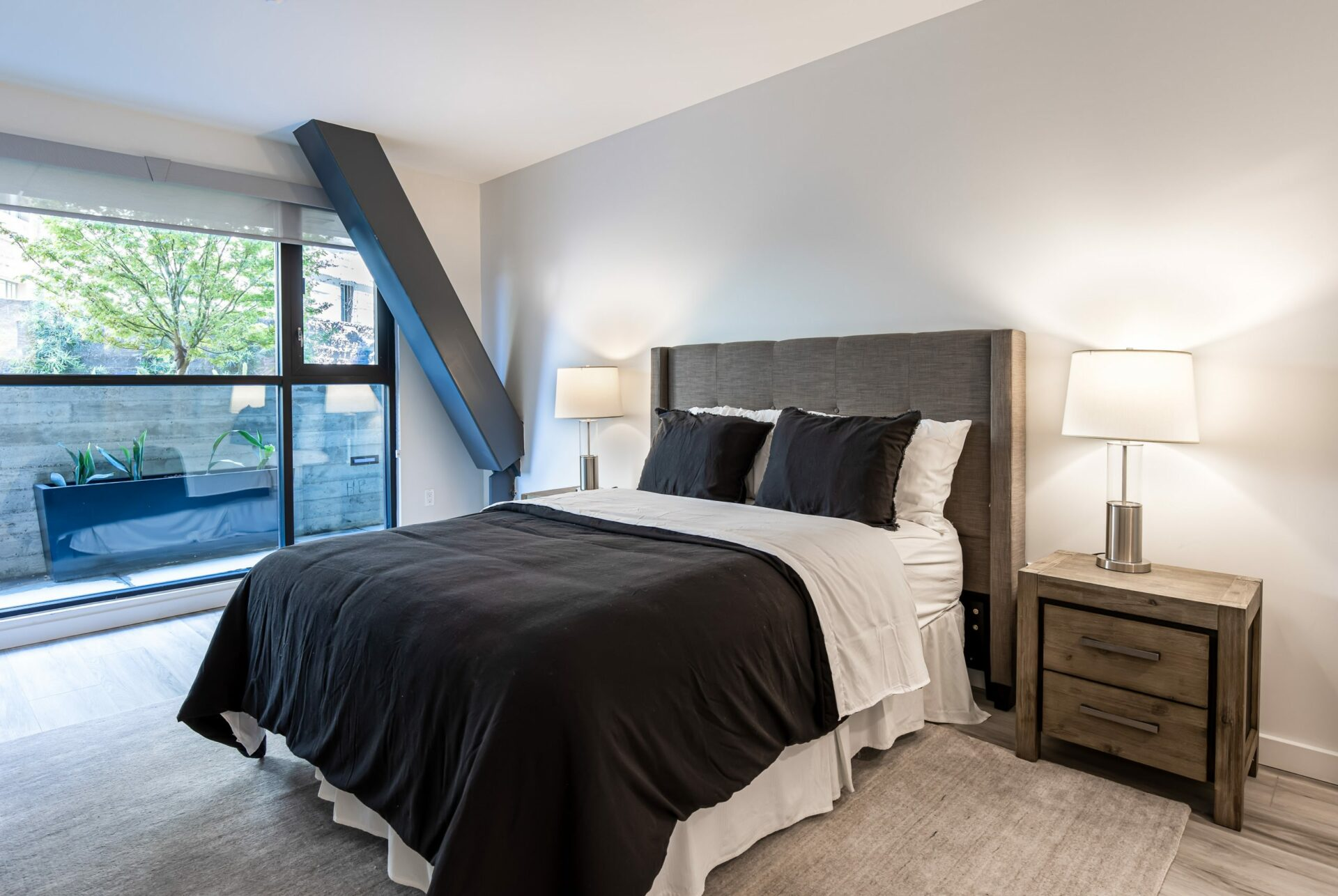 2 Bed Townhome Bedroom